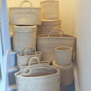 Collection de sacs paniers cabas et panières