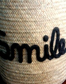 Panniere-personnalisée smile-détail