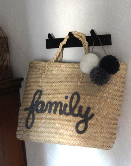 Panier personnalisé family
