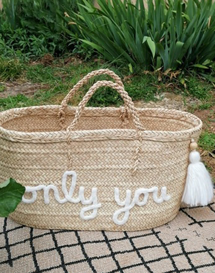 Panier personnalisable only you