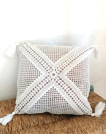 Coussin-crochete