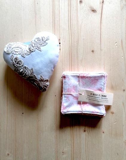 Cœur parfume lavande