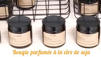 Bougie et bougie parfumée Lyon bio
