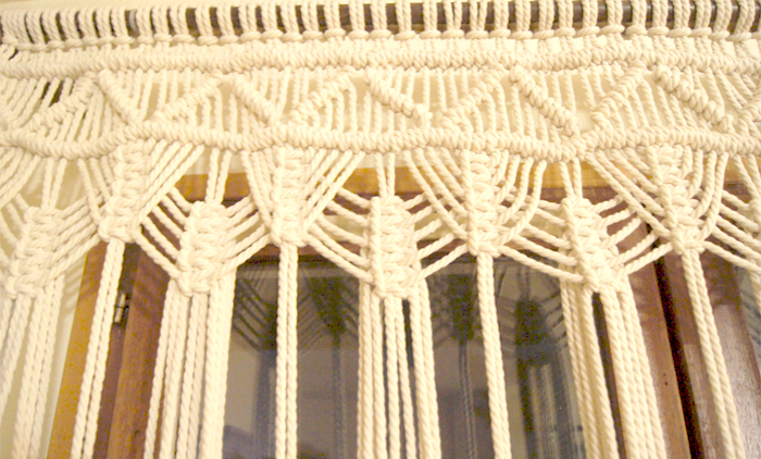 Concept store Lyon macramé
