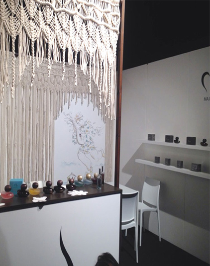 Concept store Lyon Stand parfumeuse