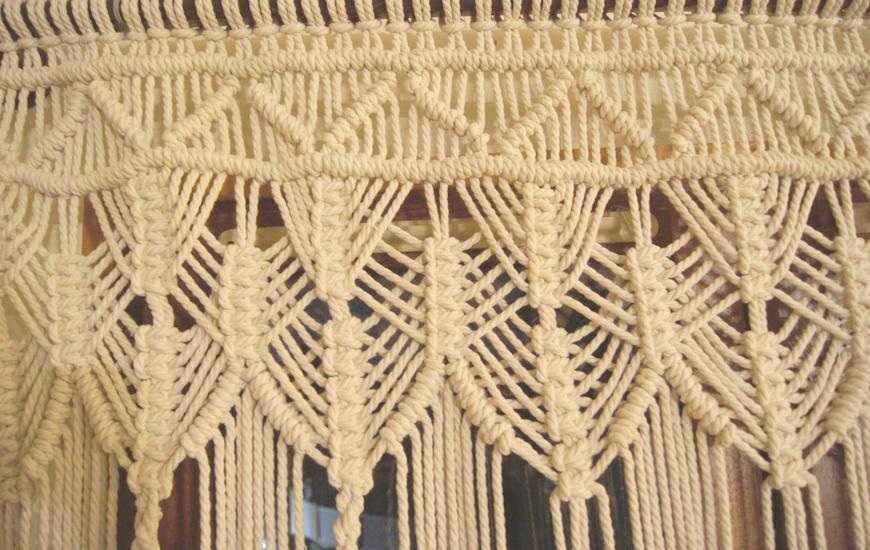Concept store Lyon tenture macramé