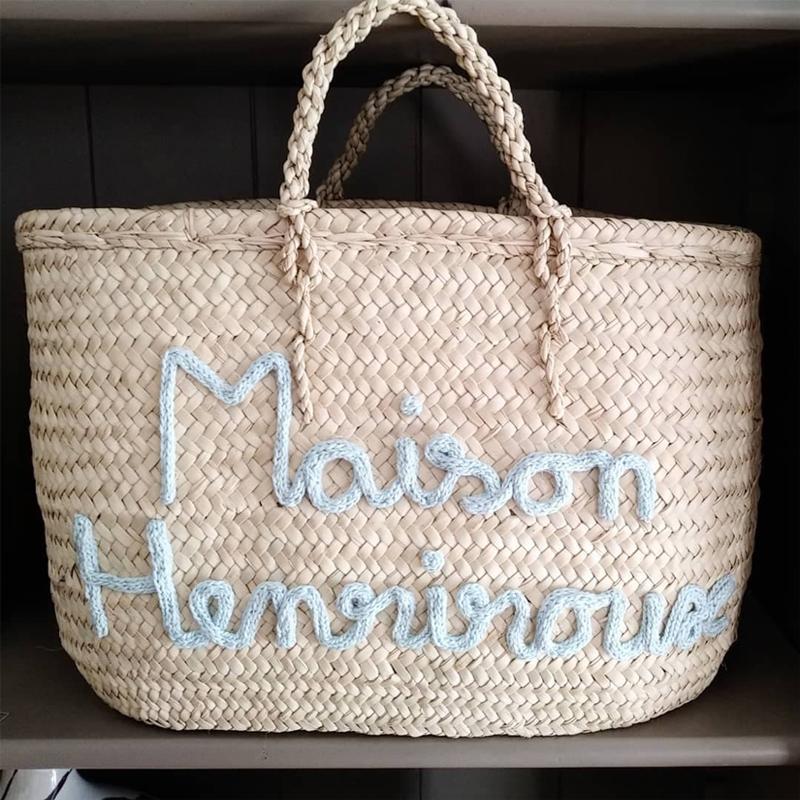 Magasin de décoration Lyon sac panier Maison Henriroux