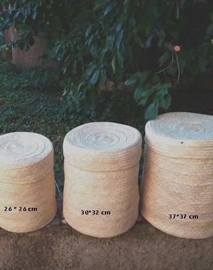 Panières rondes avec couvercles xl Lyon