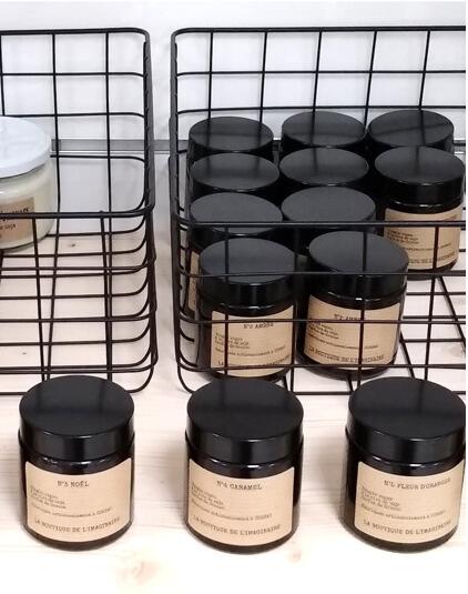 Bougie et bougie parfumée Lyon cire de soja