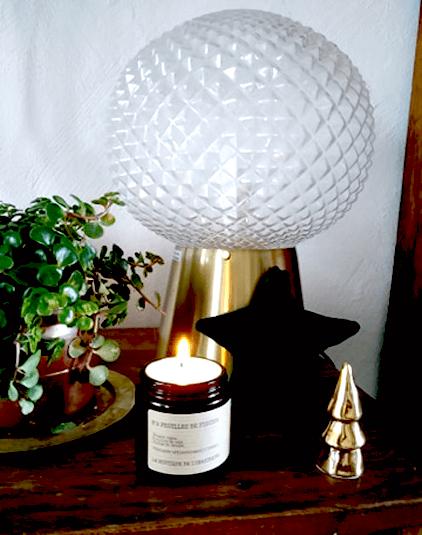 Bougie parfumée Lyon artisanale feuille de figuier