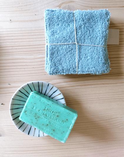 Cotons lavable Lyon lingettes éponge aqua bio