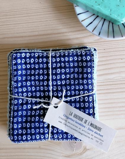 cotons lavables Lyon lingettes en tissu japonais