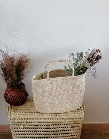 Fleurs séchées deco sacs paniers Lyon