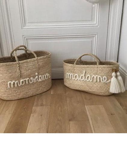 Panier monsieur et madame