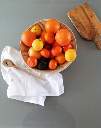 Grande corbeille à fruits