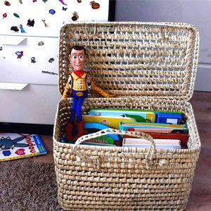 Sac panier Lyon bibliothèque enfant