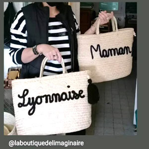 Sac panier Lyon paniers personnalisés lyonnaise