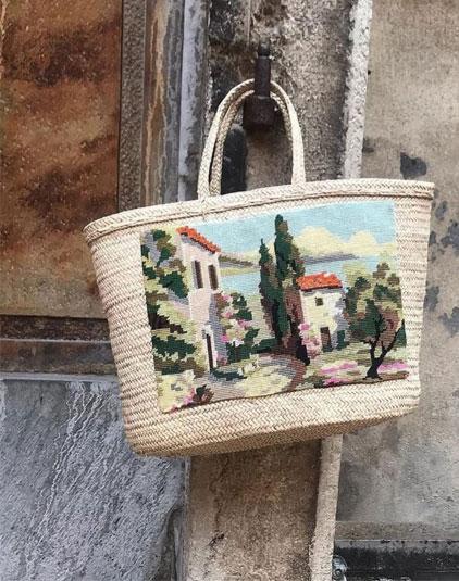 Sac panierLyon paysage de Provence